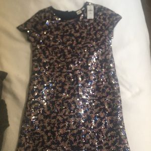 Girls Sequin Gap Kids Dress Size 10, New